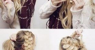 50 unbelievably simple hairstyles for school #simple #styles #school #un ...