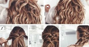 Hairstyles Step By Step Very Easy And Stunning For College