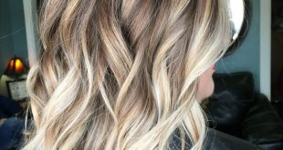 Balayage, blonde hair, brown hair, blonde highlights, lob, bob, haircut, hair, l...