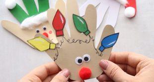 Christmas Handprint Cards - The Best Ideas for Kids