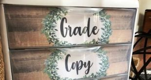 Farmhouse Classroom Decor - Editable Sterilite Drawer Labels
