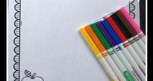 Fern's Freebie Friday ~ Back to School First Day and Last Day of School Coloring Pages