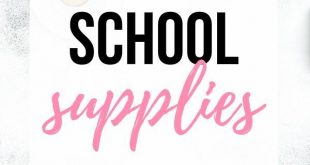 Here are 15 cute school supplies, perfect for senior year! School essentials are...