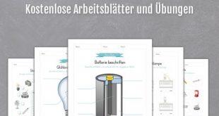 Kostenlose Arbeitsblätter und Übungen zum Thema Strom. Jetzt gratis downloaden...