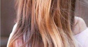 47 einfache Frisuren für Schulen zum Ausprobieren im Jahr 2018 # Anprobieren ... - Frisur Hochgesteckt