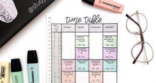 9 Must Have Bullet Journal Pages For School