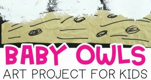 Baby Owls Art Project for Kids