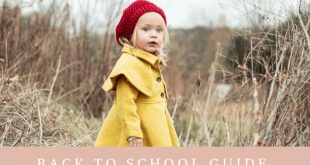 Back To School Guide - 8 Must Have Items for Kindergarten