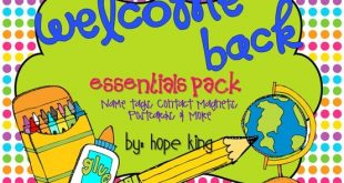Back to School Essentials Pack: Resources to Survive the First Days of School