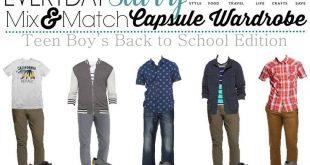 Boys Teenage Back To School Outfits