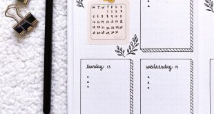 Check out this lemon calendar sticker for in your bullet journal and planner