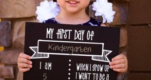 First Day of School Sign - Chalkboard Sign - DIY KIT - Craft Kit - Create your o...