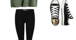 Frisuren für die Schule So tragen Sie Converse to School (35 Outfits) #School