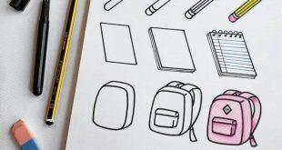 """Heutzutage dreht sich in Doodle alles um """"Zurück in die Schule"""". ?✏ ?✏. Make sur … – #alles #die #Doodle #dreht #Heutzutage"""