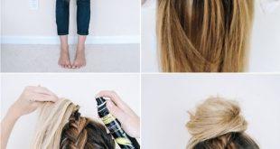 #New Hair Models Frisuren 2018 10 Super Trendy Einfache Frisuren für die Schule # 2