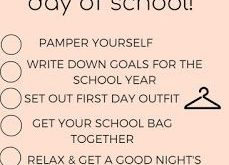 Night Routine before the first day of school!