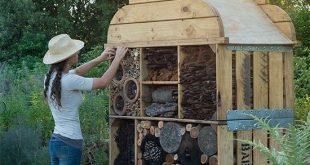 Schickes Insektenhotel in Babylonstoren in der Nähe von Kapstadt – Garten – #Ba