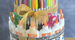 "Schulmaterial ""Kuchen"" (Back to School Gift Idea #kuchen #school #schulmaterial"