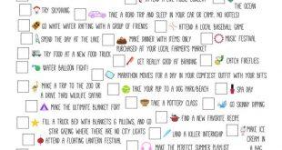 Summers in College sind dafür gedacht, Dinge von deiner Bucket List zu streichen! Diese Liste