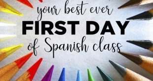 These plans for the first day of Spanish class in a communicative, CI comprehens...