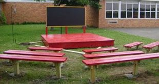 outdoor classroom. A solution to the boring factors of school are outdoor classr...